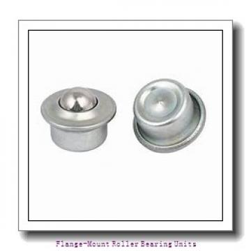 2-7/16 in x 5.5625 in x 7.2500 in  Cooper 01EBCDF207EXAT Flange-Mount Roller Bearing Units