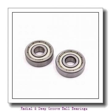 MRC R4F Radial & Deep Groove Ball Bearings