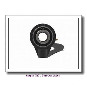 3.4375 in x 6.7500 in x 9.2500 in  Dodge HNGC307 Hanger Ball Bearing Units