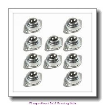 1.0000 in x 3.9063 in x 70 mm  SKF F2B 100-FM Flange-Mount Ball Bearing Units