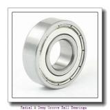 17.000 mm x 30.0000 mm x 7.00 mm  MRC 1903SZZ Radial & Deep Groove Ball Bearings